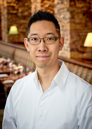 Portrait of Chef Gene Kato